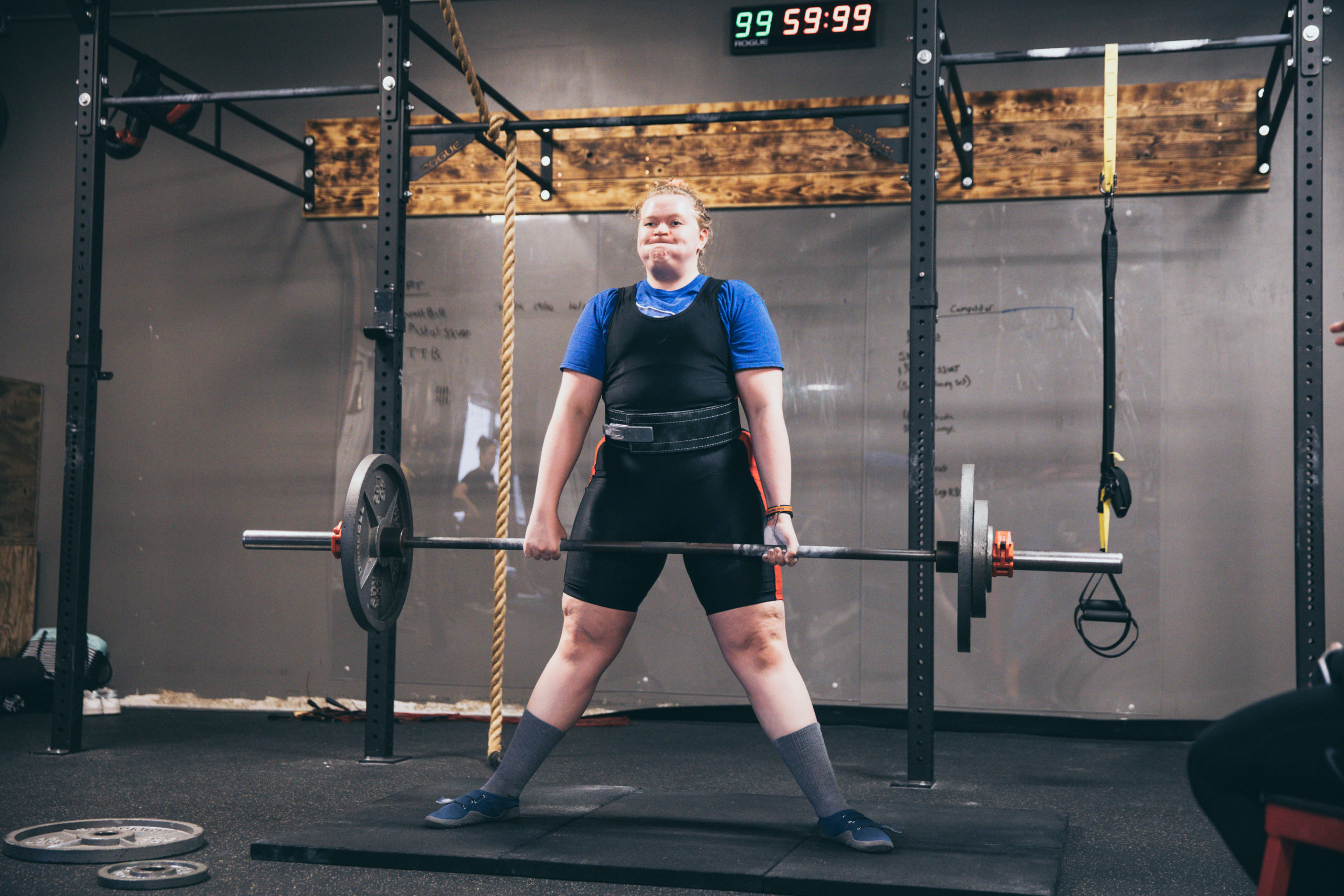 Google rich results for powerlifting